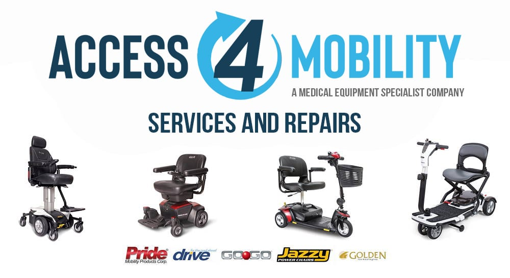 access 4 mobility services and repair